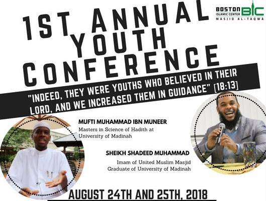 BIC Will host 1st Annual Youth Conference after Eid Al-Adha