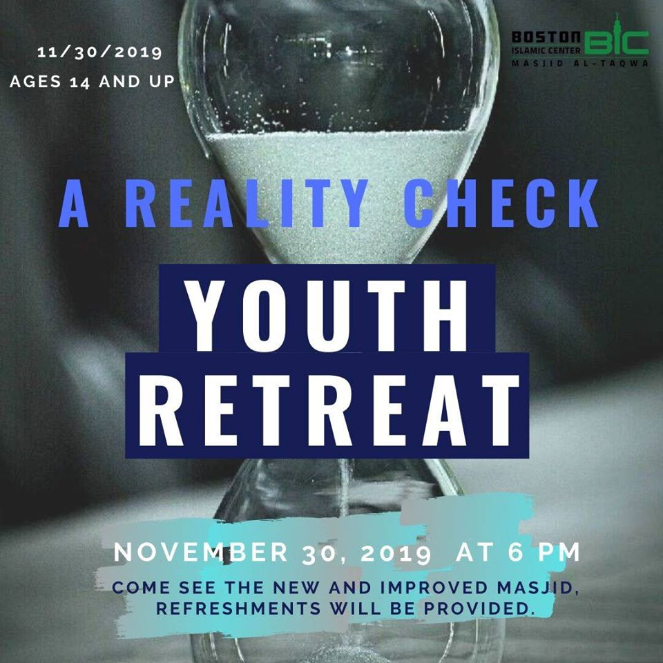 Youth Retreat: A Reality Check 11/30